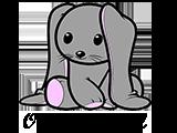 o królikach logo